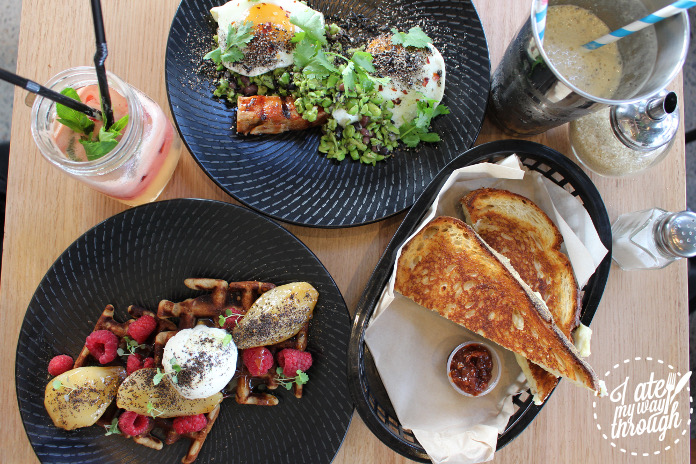 Just a few of the brunch options available from Barista & Cook