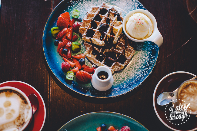 coffee trad3rs, top ryde city, cafe, sydney cafe, waffles, belgium waffles , ice cream