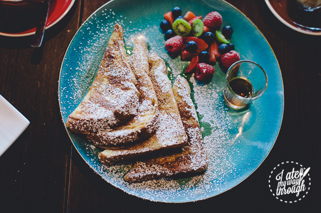coffee trad3rs, top ryde city, cafe, sydney cafe, french toast, kiwi berries, maple syrup
