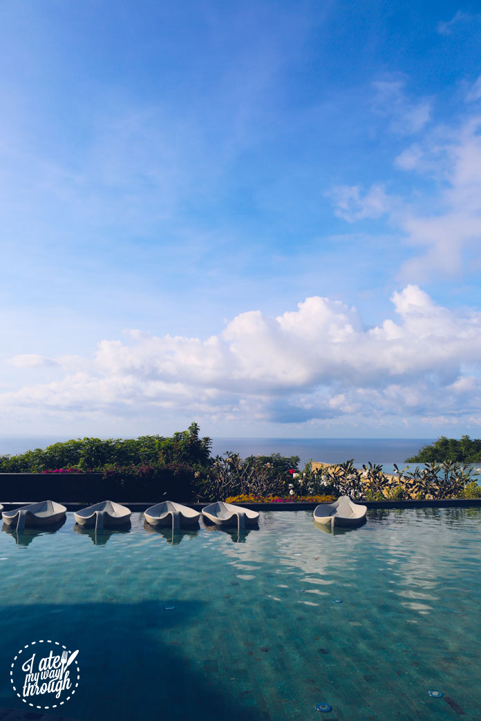 Poolside at Banyan Tree Bali