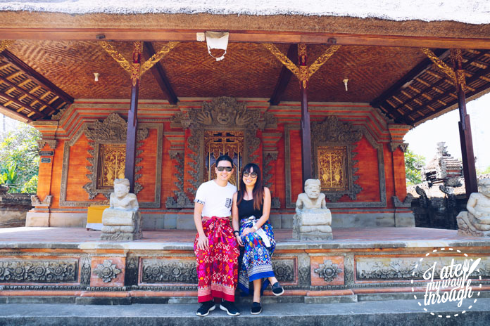 Zen and I at Puseh Batuan Temple