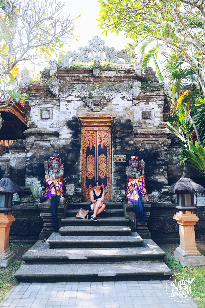 Jennifer Lam at Ubud Palace