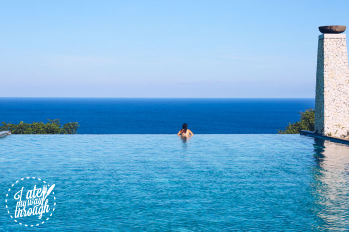 Me at the infinity pool :)
