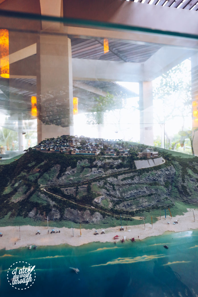 Model of the resort