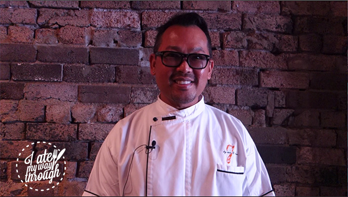 Chef Sujet, Spice I Am's Executive Chef