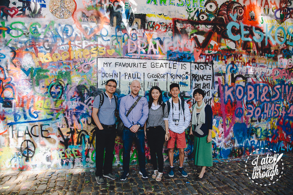 Prague, John Lennon Wall, Vladimir, Prague Foodies