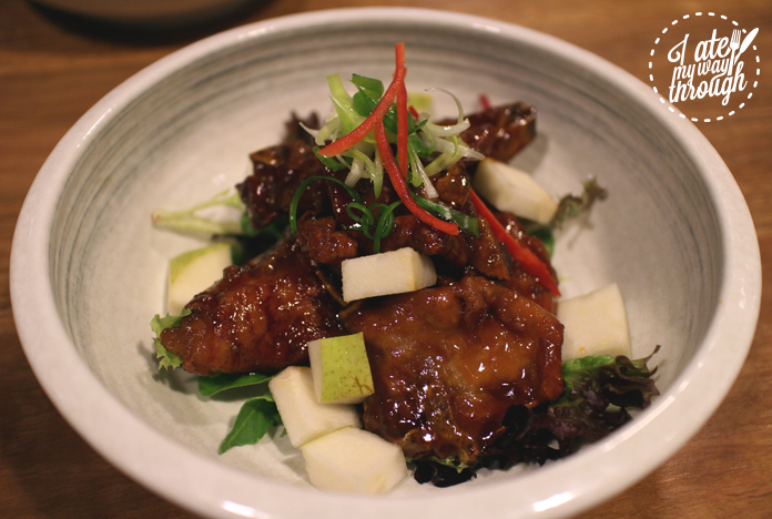 Upperroom Resto Cafe's Oriental Sweet and Sour Pork