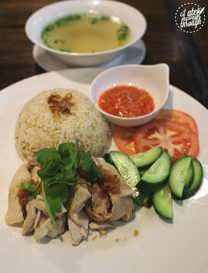 Upperroom Resto Cafe's Hainanese chicken