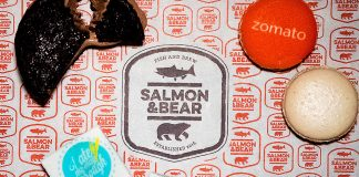 Celebrating our 10th birthday with Salmon and Bear and Zomato!