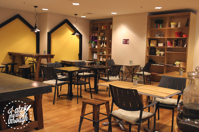 Upperroom Resto Cafe's modern interior