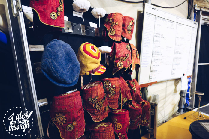 Hats behind the scenes