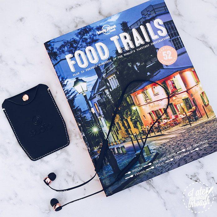 Sudio Vasa Bla wireless headphones and Lonely Planet Food Trails - Staff Picks