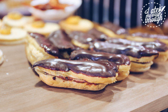 Salted chocolate and bacon eclair - Knights Meats & Deli bacon degustation