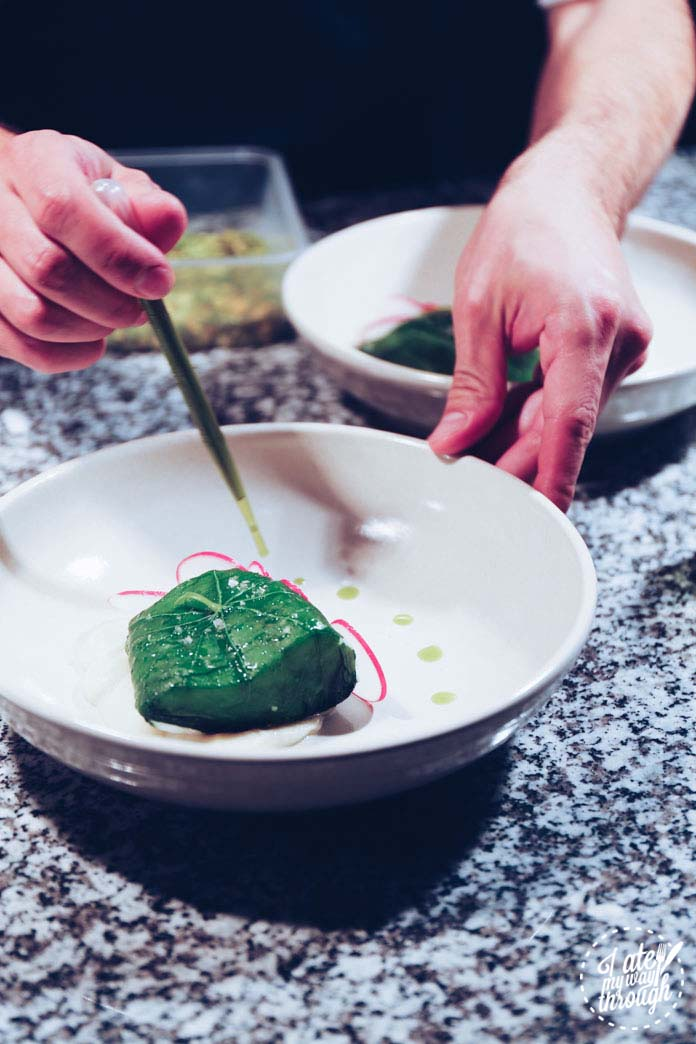 Plating up the murray cod