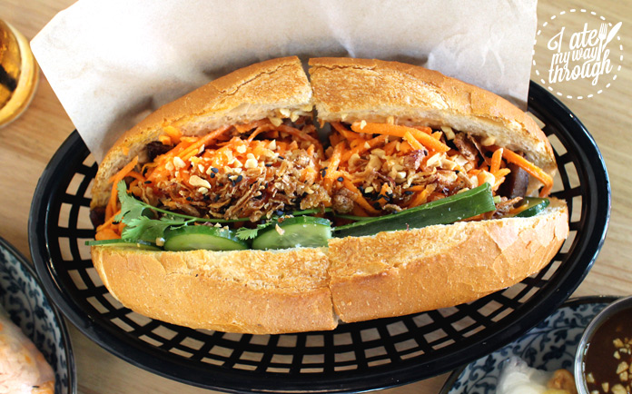 Yellow Fever bahn mi