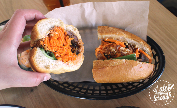 Cross section of Bahn mi