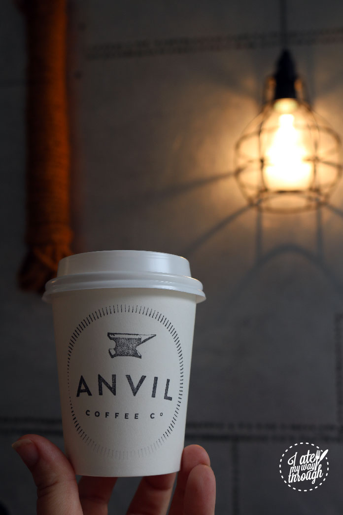 Handmade details set Anvil Coffee Co apart from the rest.