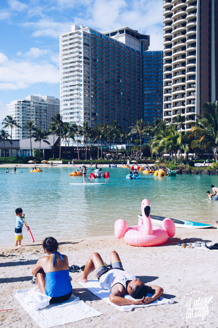 Duke Kahanamoku Lagoon within Hilton Hawaiian Village