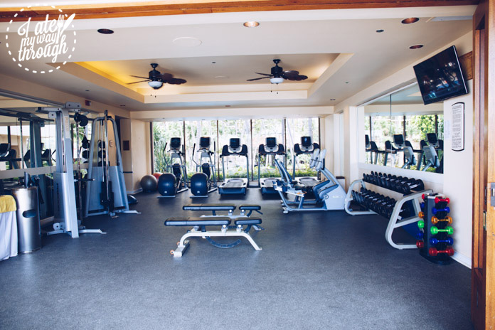 Fitness centre at the Ali'i Tower