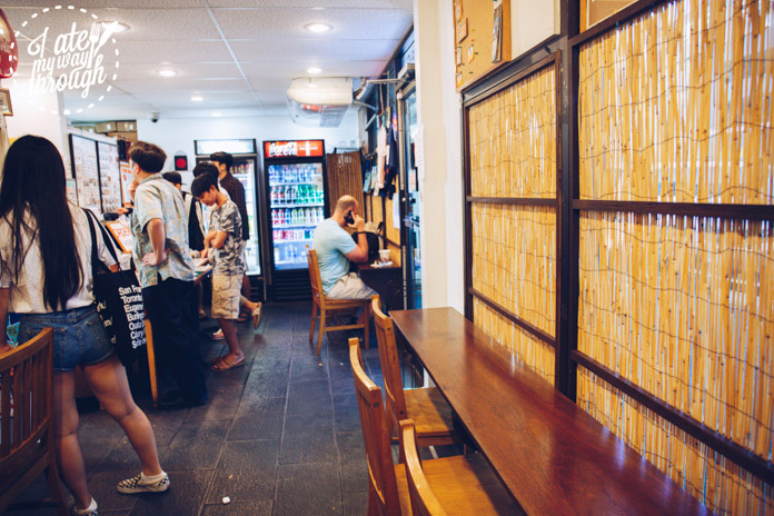 Interior of Musubi & Bento Express Iyasume